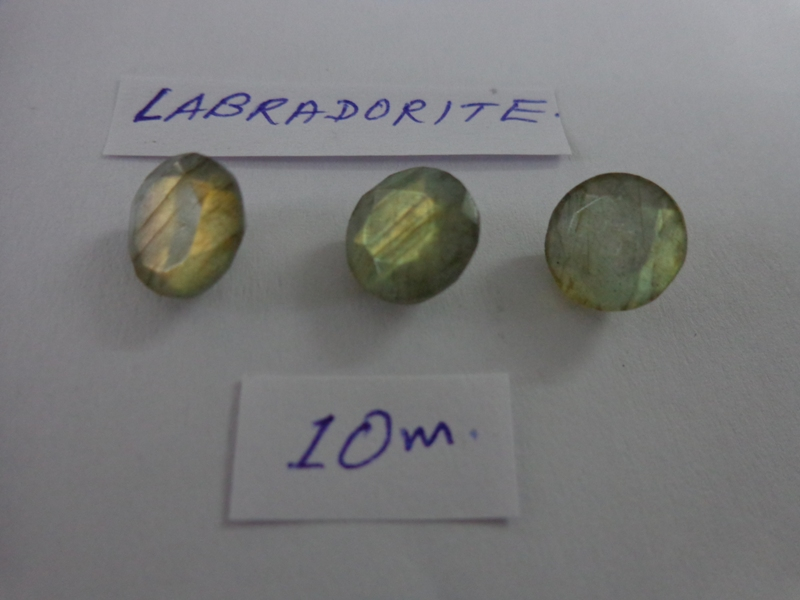 Labradorite facetted